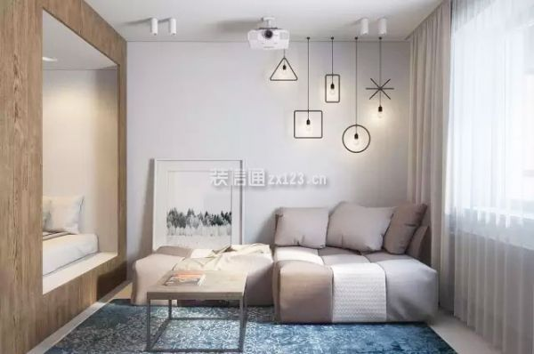 一居室整体设计