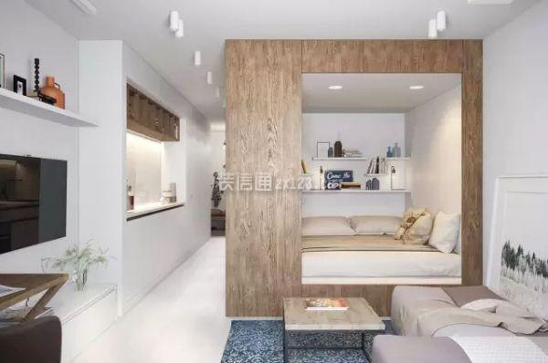 一居室储物设计
