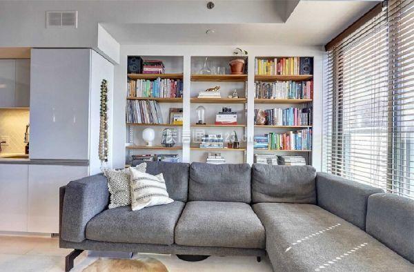 一居室沙发背景墙装修效果图