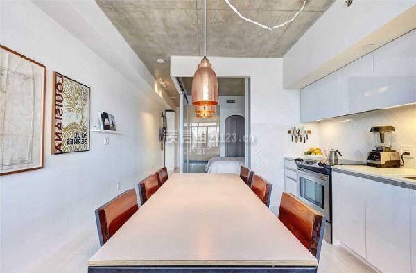 一居室餐厅厨房装修效果图