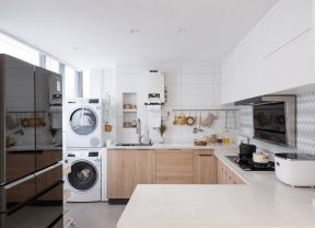 北歐廚房裝修圖 北歐廚房裝修效果圖