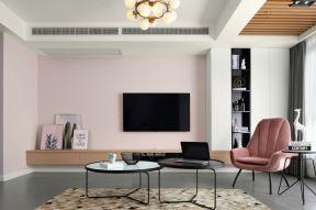 電視背景墻壁紙圖片  客廳電視墻顏色
