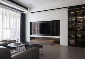客廳電視墻效果  電視墻柜圖片 電視墻柜圖