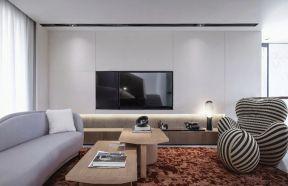 客廳電視墻圖片 嵌入式電視墻效果圖