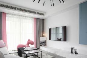 客廳電視墻造型圖 客廳電視墻的效果圖
