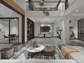 新中式客廳電視墻  新中式客廳電視墻效果圖