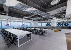 科技公司辦公室吊頂裝修效果圖片