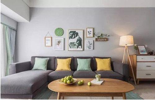 90平米房屋装修效果图——客厅