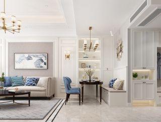 百色碧桂园美式风格150平米装修效果图案例