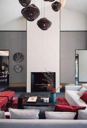 中式復式樓客廳裝修 中式復式樓裝修設計