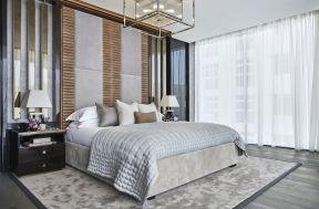 臥室背景墻裝修圖 臥室床頭造型效果圖