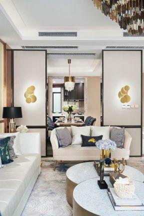 復式客廳裝修效果圖大全 復式客廳裝修圖 客廳移門隔斷