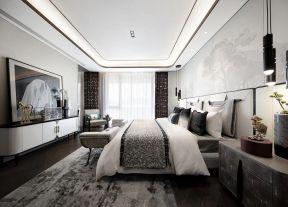 新中式臥室裝修效果圖大全2019圖片 復式樓臥室裝修圖 復式樓臥室裝修