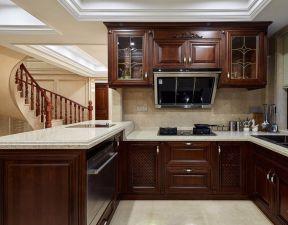 復式廚房裝修圖 復式樓廚房裝修效果圖