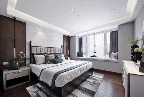 新中式臥室裝修效果圖大全 新中式臥室 臥室飄窗設計圖片大全