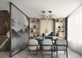 別墅茶室裝修效果圖 中式茶室設計效果圖
