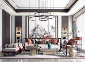 中式別墅客廳圖片 中式別墅客廳裝修效果