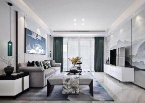 新中式客廳裝潢效果圖 新中式客廳裝修效果圖欣賞