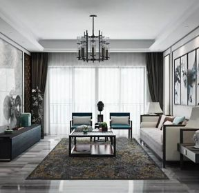 中式風格客廳吊頂裝修效果圖賞析-每日推薦