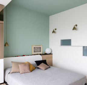 80平方米房子臥室色彩搭配裝修效果圖片-每日推薦