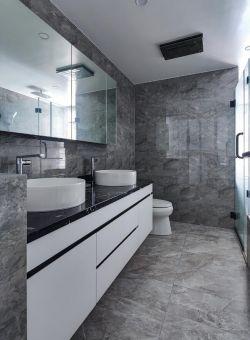 100平米房子卫生间洗漱台装修设计图片