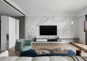 電視墻設計大全 電視墻設計效果 客廳電視墻瓷磚
