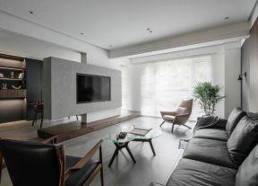 現代客廳設計 現代客廳設計風格 現代客廳設計效果圖 電視墻創意