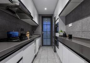 廚房裝修設計圖 長方形廚房裝修效果圖
