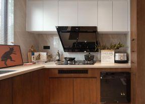 廚房轉角櫥 廚房吊柜裝修效果圖