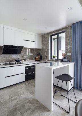 簡約廚房吧臺 簡約廚房裝修圖 簡約廚房裝修效果圖片大全