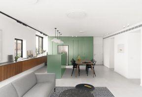 家裝餐廳效果 100平公寓裝修效果圖