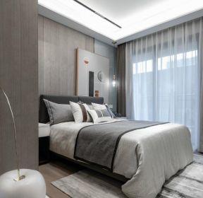 100平米現代風格房子臥室裝修設計圖片-每日推薦