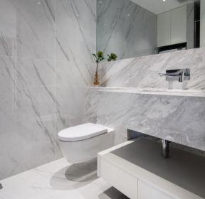 100平米房子簡約衛生間墻面瓷磚裝修設計圖片-每日推薦