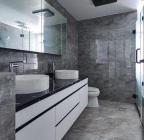 100平米房子衛生間洗漱臺裝修設計圖片-每日推薦