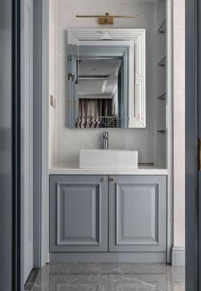 洗手台装修效果图 卫生间洗手台设计