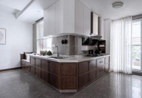 新中式廚房圖 開放式廚房設計