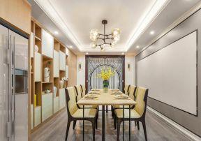 新中式餐廳設計圖片 新中式餐廳裝修 新中式餐廳裝修效果圖大全