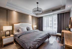 新中式臥室設計圖片 新中式臥室家具 新中式臥室裝修圖片