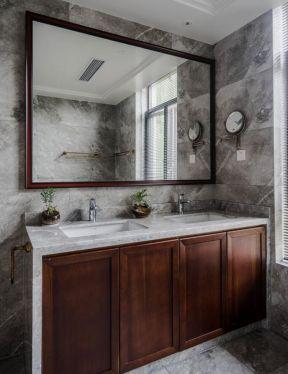 衛生間洗手臺裝修效果圖 衛生間洗手臺面設計 衛生間洗手臺柜效果圖