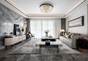 新中式客廳電視背景效果圖 新中式客廳圖片 新中式客廳裝潢