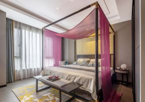 新中式臥室裝修效果圖 新中式臥室設計