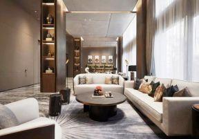 新中式客廳裝修效果圖欣賞 新中式客廳沙發效果圖