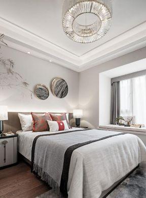 新中式臥室設計 新中式臥室風格 新中式臥室設計圖