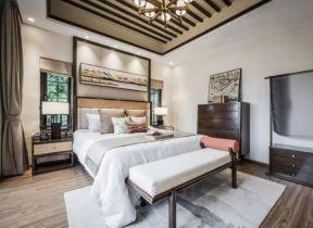 新中式臥室裝修圖片 新中式臥室設計 新中式臥室裝修效果圖大全2019圖片