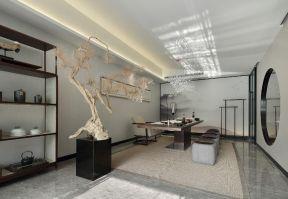 茶室設計效果圖 茶室設計圖 新中式茶室設計圖片
