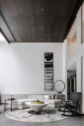 新中式復式樓裝修 新中式復式客廳 新中式復式裝修設計