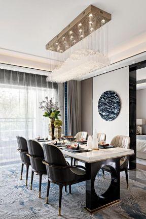 新中式餐廳效果圖 新中式餐廳裝修 新中式餐廳裝飾