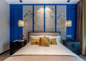新中式臥室效果圖 新中式臥室設計圖片
