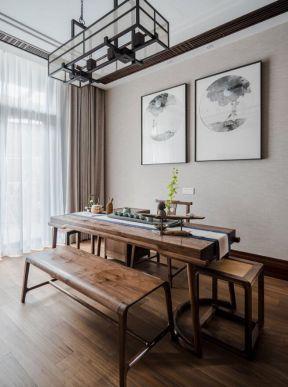 茶室設計裝修 新中式茶室設計圖片