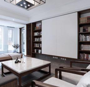新中式三室兩廳客廳裝修效果圖大全-每日推薦